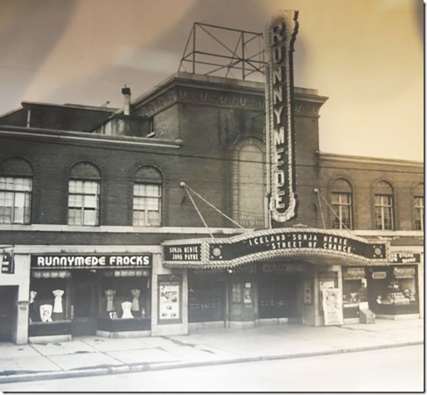 1942 - Runnymede Theatre once at 2223 Bloor St W, south side west of Runnymede Rd - now Shoppers Drug Mart