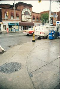 1989 - Runnymede Theatre once at 2223 Bloor St W, south side west of Runnymede Rd - now Shoppers Drug Mart