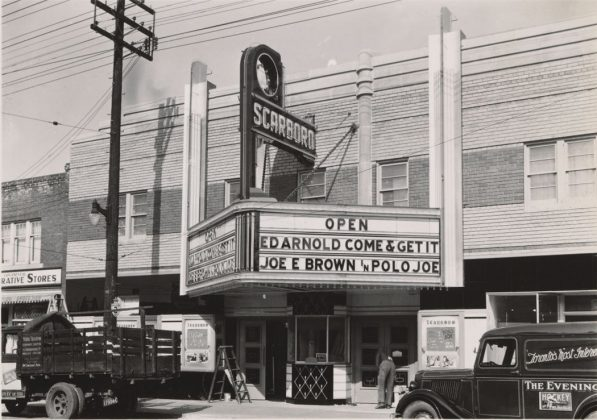 1936 - Scarboro Theatre once at 960 Kingston Rd, between Lawlor Ave and Scarborough Rd on north side - opened in 1936