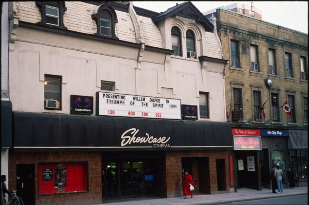 1980's - Showcase Cinema (previously Victory, Embassy, Astor, New Yorker, and later Festival) once at 651-653 Yonge St, south of Charles St on east side - now CAA Theatre formerly Panasonic