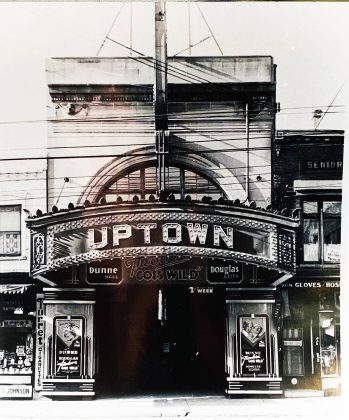 1936 - Uptown Theatre once at 764 Yonge St, west side south of Bloor St W