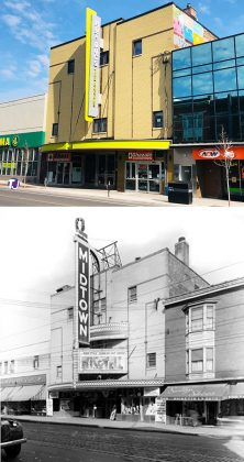 2021/1945 - Hot Docs Ted Rogers Cinema at 506 Bloor St W, north side east of Bathurst St - once Midtown Theatre