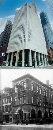 2021/1913 – TD Bank at Yonge and Adelaide Sts, southwest corner once Hotel Lamb