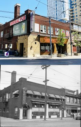 2021/1945 - Imperial Hotel at 54 Dundas St E, and Victoria Ln once Imperial Hotel