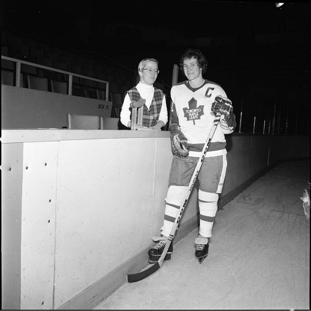 1970's - Darryl Sittler and Rosemarie for the March of Dimes