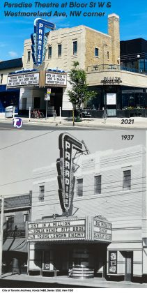 2021/1937 - Paradise Theatre at 1006 Bloor St W