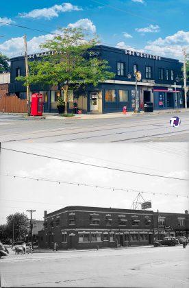2021/1945 - The Westlake at 2847 Lake Shore Blvd at Fourth St, southwest corner - once New Toronto Hotel