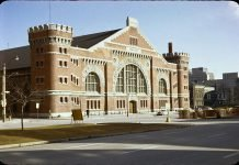 The University Avenue Armouries were once located in downtown Toronto
