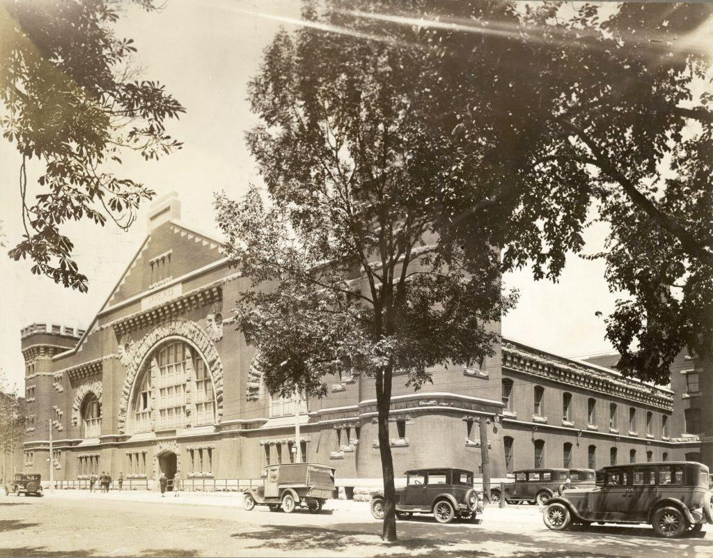 1931 - University Avenue Armouries at Armoury St, southeast corner