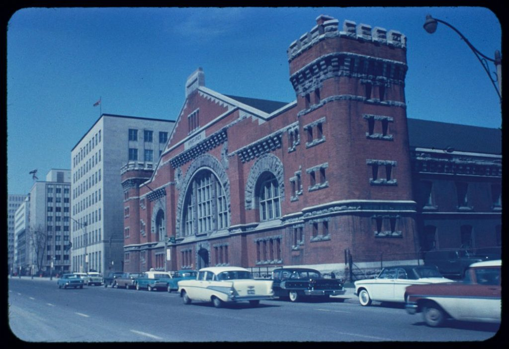 1950/63 - West facade of the University Avenue Armouries