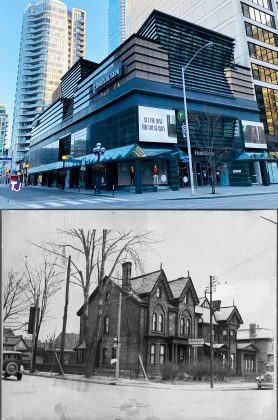2021/1928 – Harry Rosen at Bloor St W and Bellair Ave, northeast corner