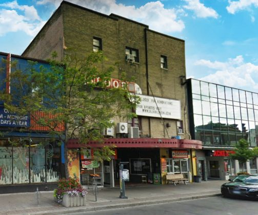 2011 - Bloor Cinema, later Bloor Hot Docs Cinema once at 506 Bloor St W, east of Bathurst St on north side - now Hot Docs Ted Rogers Cinema, there has been a theatre in this location since 1913