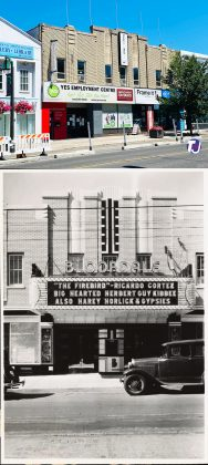 2021/1935 - Bloordale/State Theatre once at 1606 Bloor St (now 1610), north side between Dorval Rd and Indian Rd - opened from 1935 to 1968