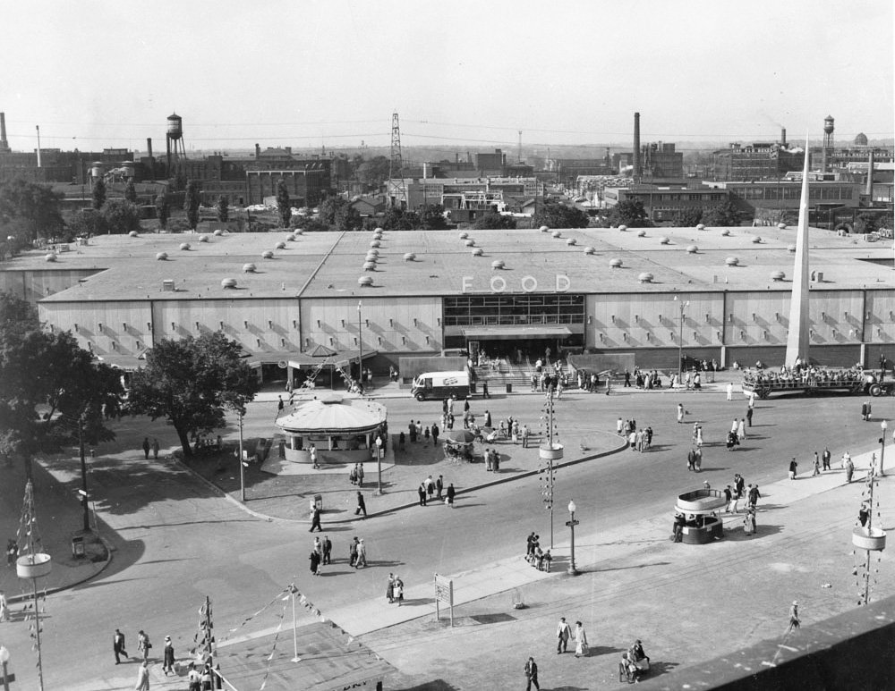 1954 - Food Building at the CNE, in the year of completion