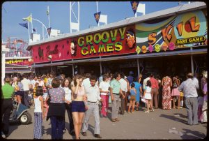 Games along The CNE Midway