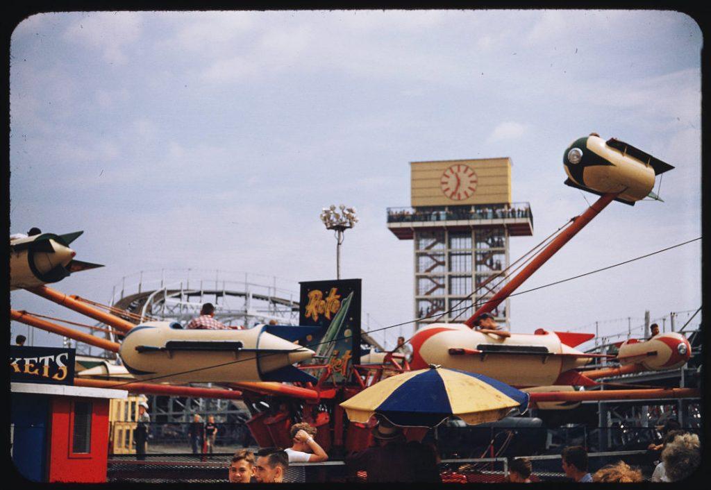 1955 - Roto Rocket ride on at the CNE