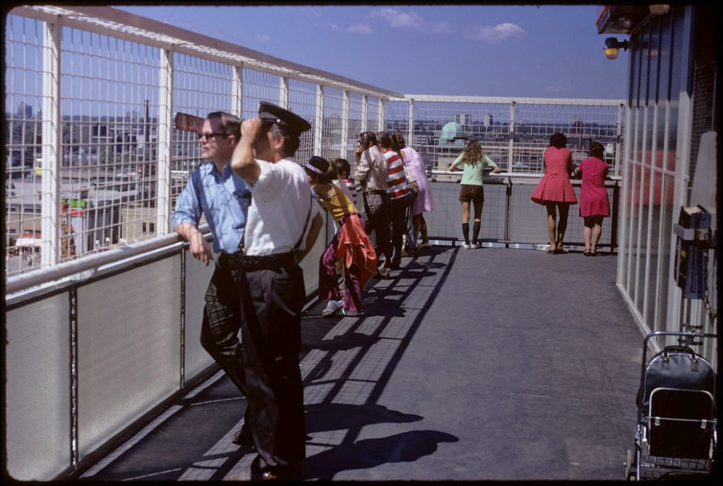 1972 - A view from the Shell Tower Observation Deck