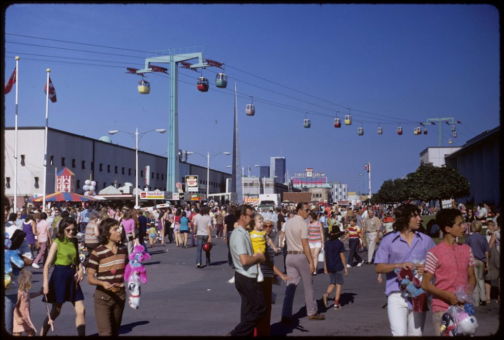 1972 - The Midway and Alpine Way at the CNE