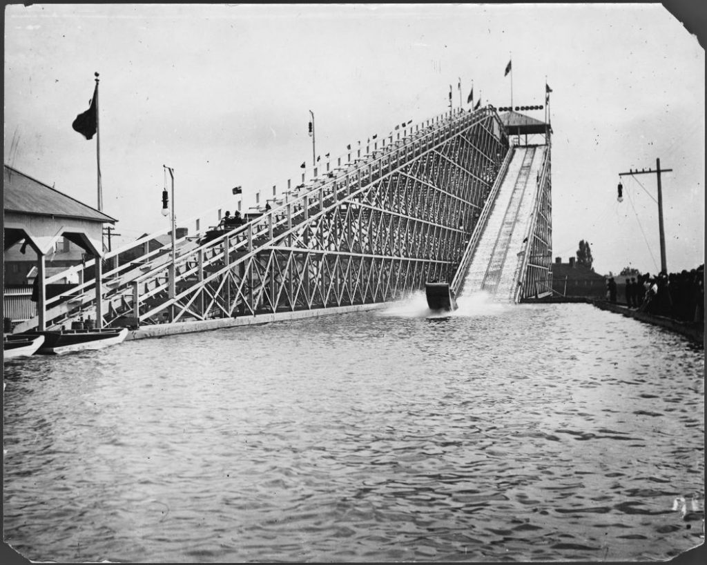 Early 1900's - Water Chute ride