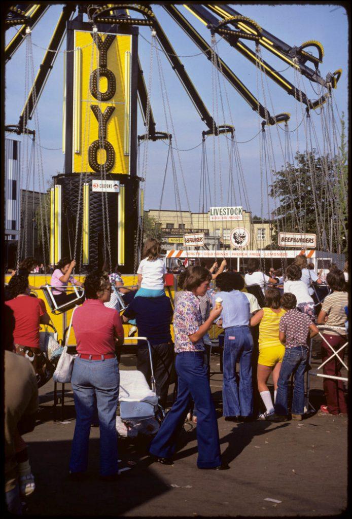1970's - The YoYo ride at the CNE