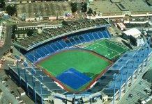 Exhibition Stadium & Grandstand in Toronto