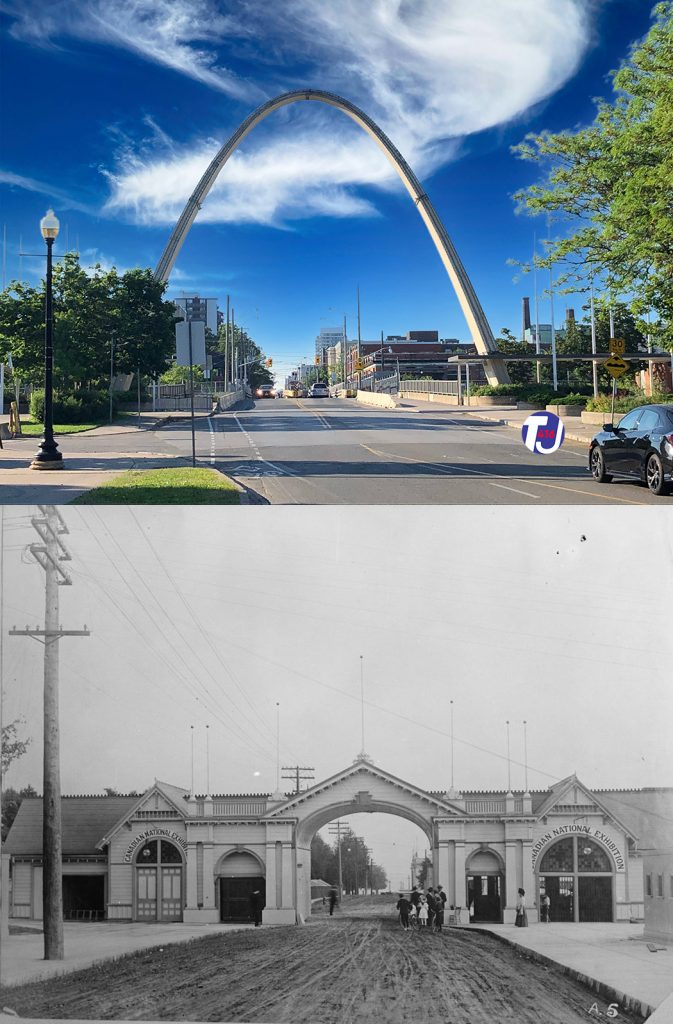 2020/1900's - Dufferin Gate at Exhibition Place