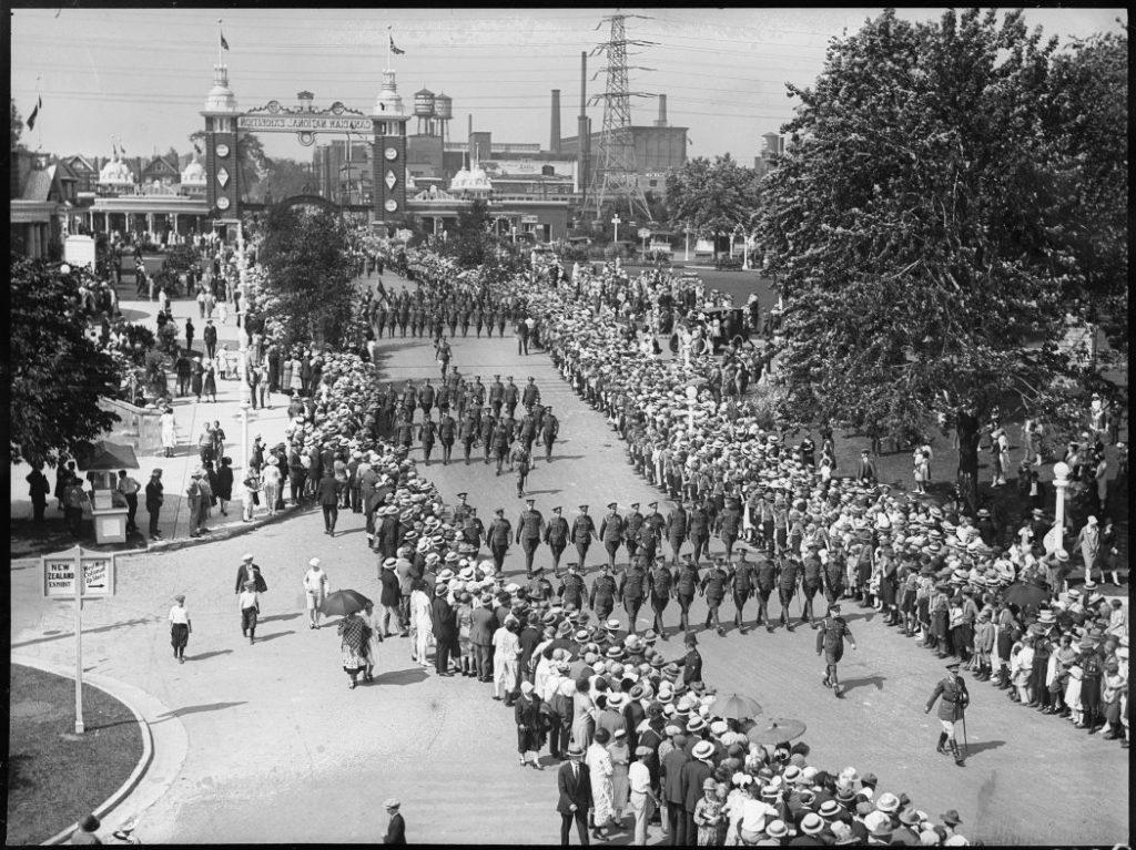 1926 - Warriors Parade at The CNE