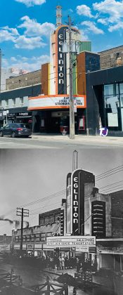 2021/1936 - Eglinton Theatre once at 400 Eglinton Ave W, west of Avenue Rd on north side - opened from 1936 to 2002, now the Eglinton Grand an entertainment venue
