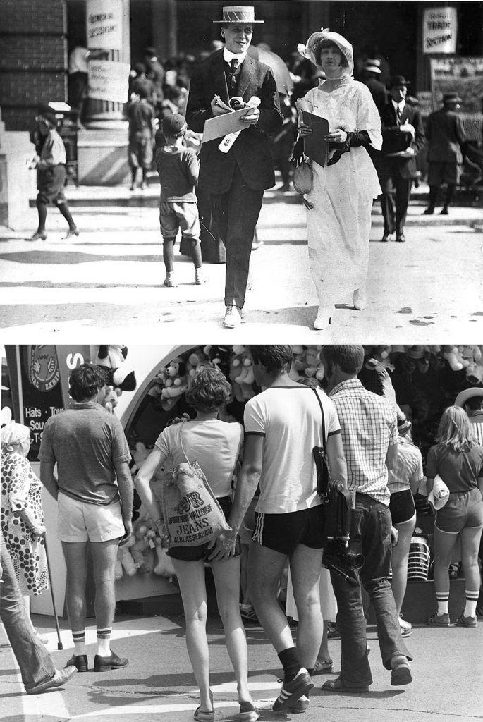 1911/1970 - Fun and fashion at the EX