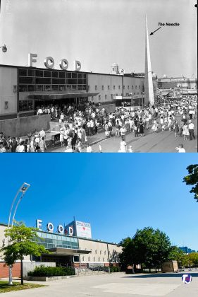 1954/2021 - Food building at the EX - build in 1954