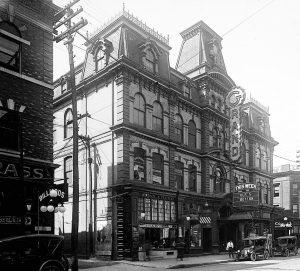 1921 - Grand Opera House once at 11 Adelaide St W, looking southwest