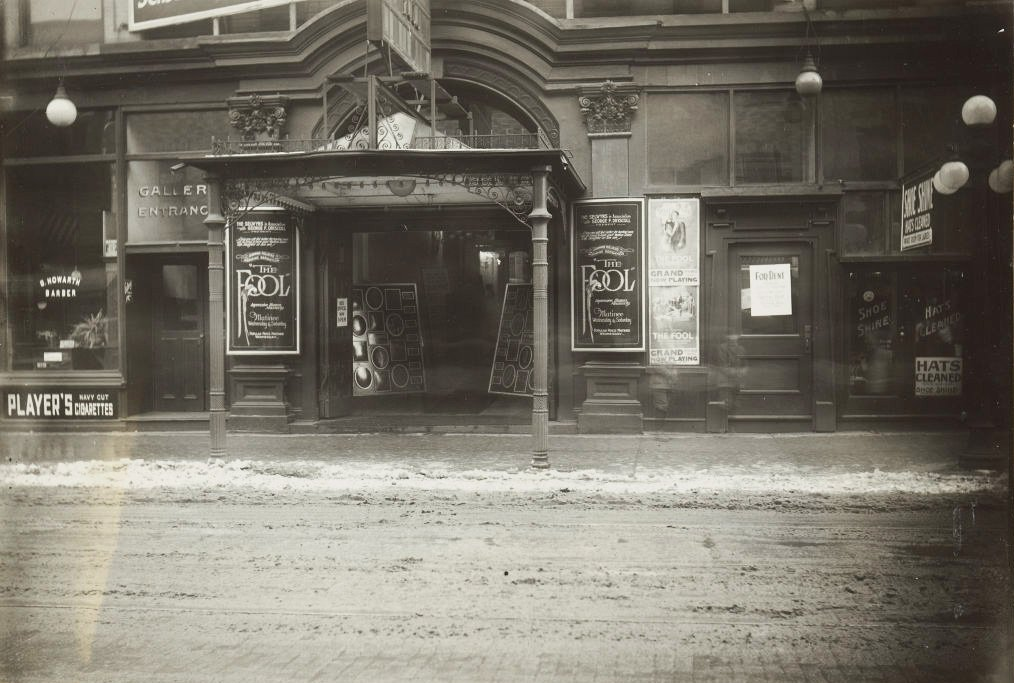 1924 - The Fool playing at the Grand Opera House