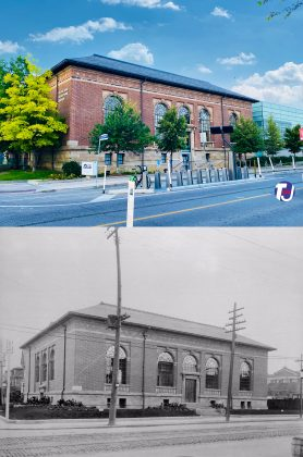 2021/1913 - Toronto Public Library - Bloor/Gladstone Branch at 1101 Bloor St W
