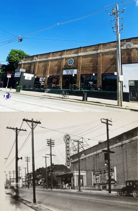 2021-1920/26 - Parkdale Theatre once at 1605 Queen St W at Triller Ave, southwest corner - opened from 1920 to 1970