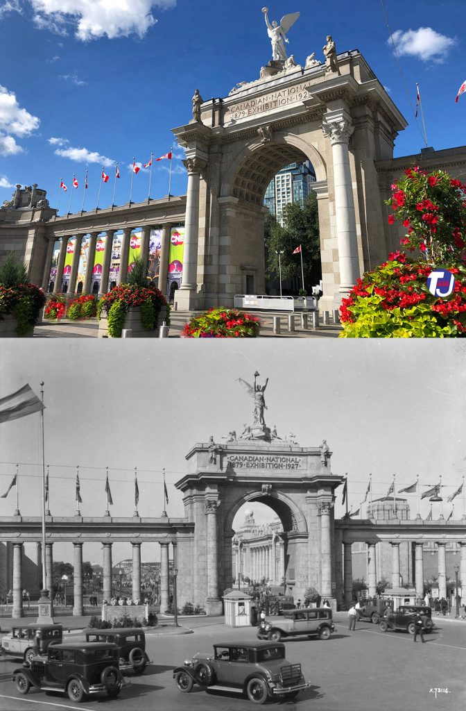 2019/1931- Princes' Gates entrance to Exhibition Place, at Strachan Ave and Lake Shore Blvd W