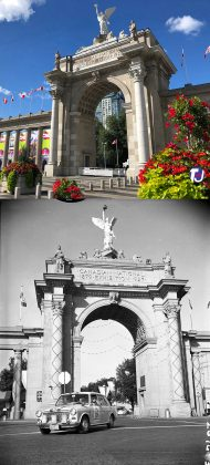 2019/1965 - Princes' Gates entrance to Exhibition Place, at Strachan Ave and Lake Shore Blvd W