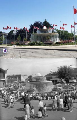 2020/1960 - Princess Margaret Fountain at Exhibition Place - built in 1958