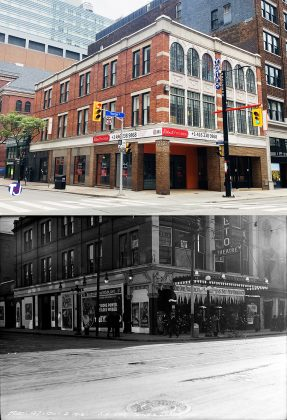2021/1916 - Rialto Theatre once at 219-221 Yonge St at Shuter St, southeast corner