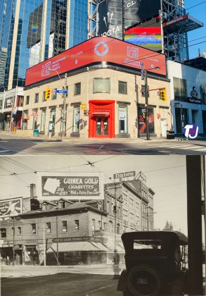 2021/1924 – Yonge St and Dundas St W, northwest corner
