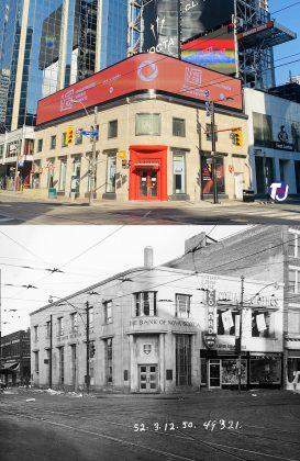 2021/1950 - Yonge St and Dundas St W, northwest corner