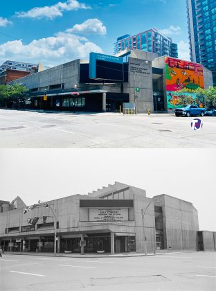 2021/1972 - St Lawrence Centre for the Arts at 27 Front St E, east of Yonge St on south side - opened in 1967